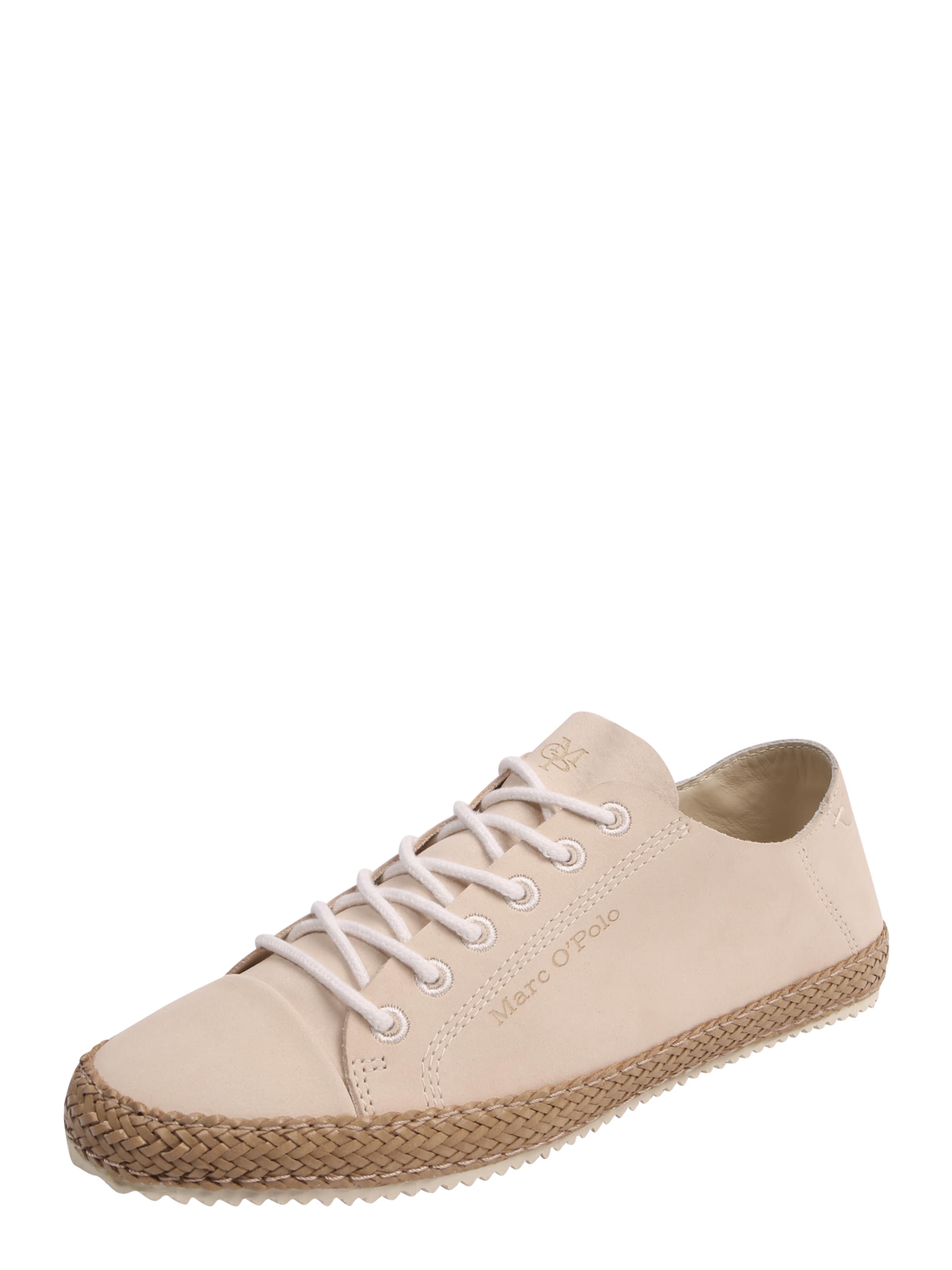 Marc Chaussures En Dentelle Crème O'polo « 100le » 0nGXIIMdE