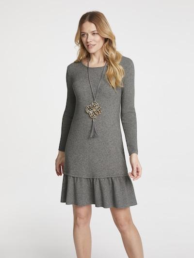 heine Pletené šaty - sivá, Model/-ka