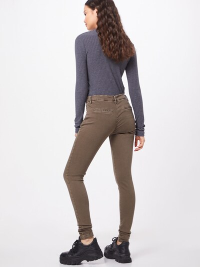 REPLAY Pantalon 'KARYNA' en marron: Vue de dos
