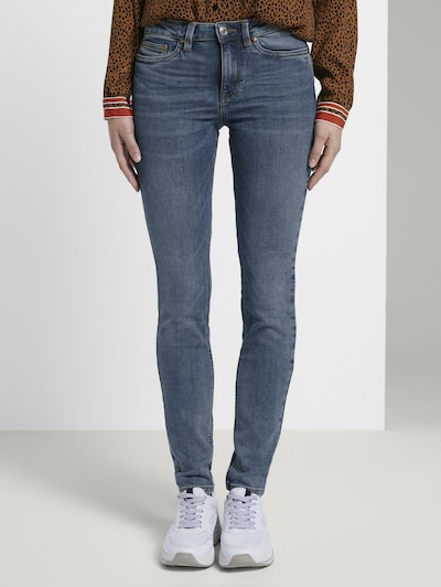 TOM TAILOR DENIM Jeanshosen 'Nela' in blue denim, Modelansicht