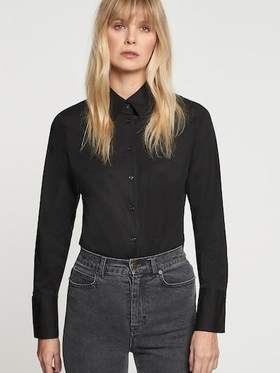 SEIDENSTICKER Blouse in de kleur Zwart, Modelweergave