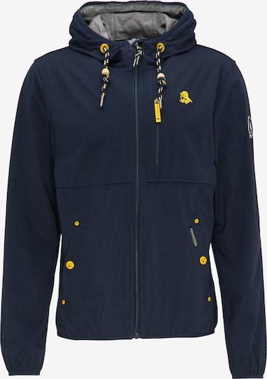Schmuddelwedda Functionele jas in de kleur Donkergrijs, Productweergave
