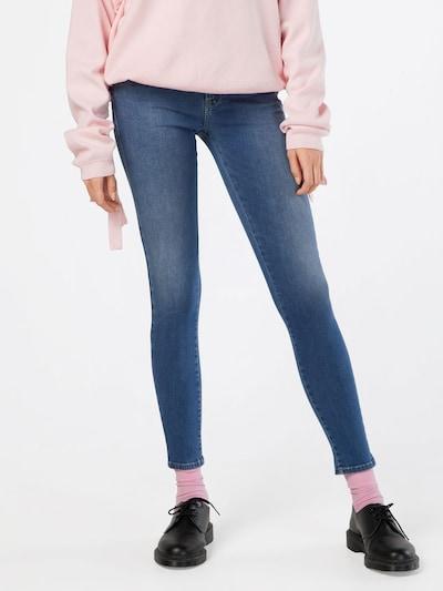 DIESEL Jeans 'Slandy 084NM' in blue denim: Frontalansicht
