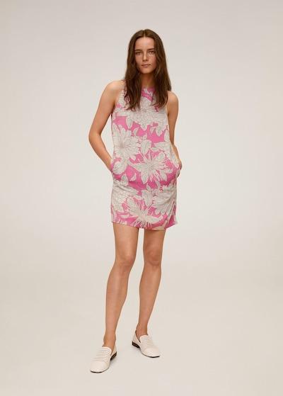 MANGO Letní šaty 'Tuku' - písková / pink, Model/ka