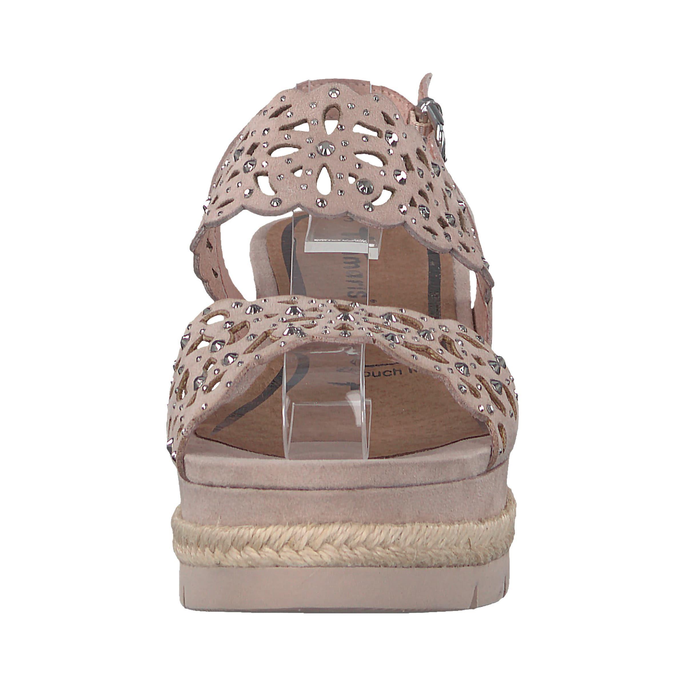 TAMARIS Plateau-Sandale Leder, Textil Verkaufen Sie saisonale Aktionen Aktionen Aktionen 1d3a6a
