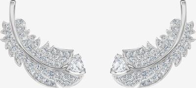 Swarovski Ohrhänger 'Nice' in silber / weiß, Produktansicht