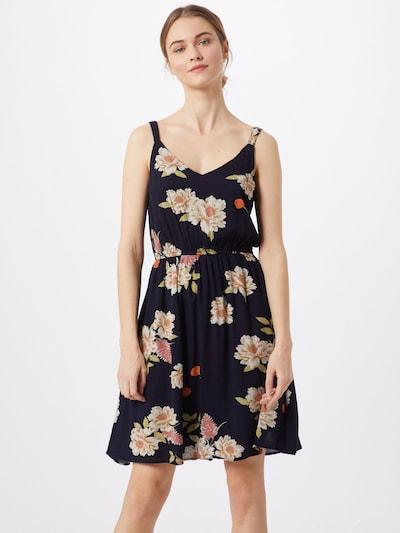 ONLY Kleid 'onlEMMA KARMEN S/L DRESS WVN' in nachtblau, Modelansicht