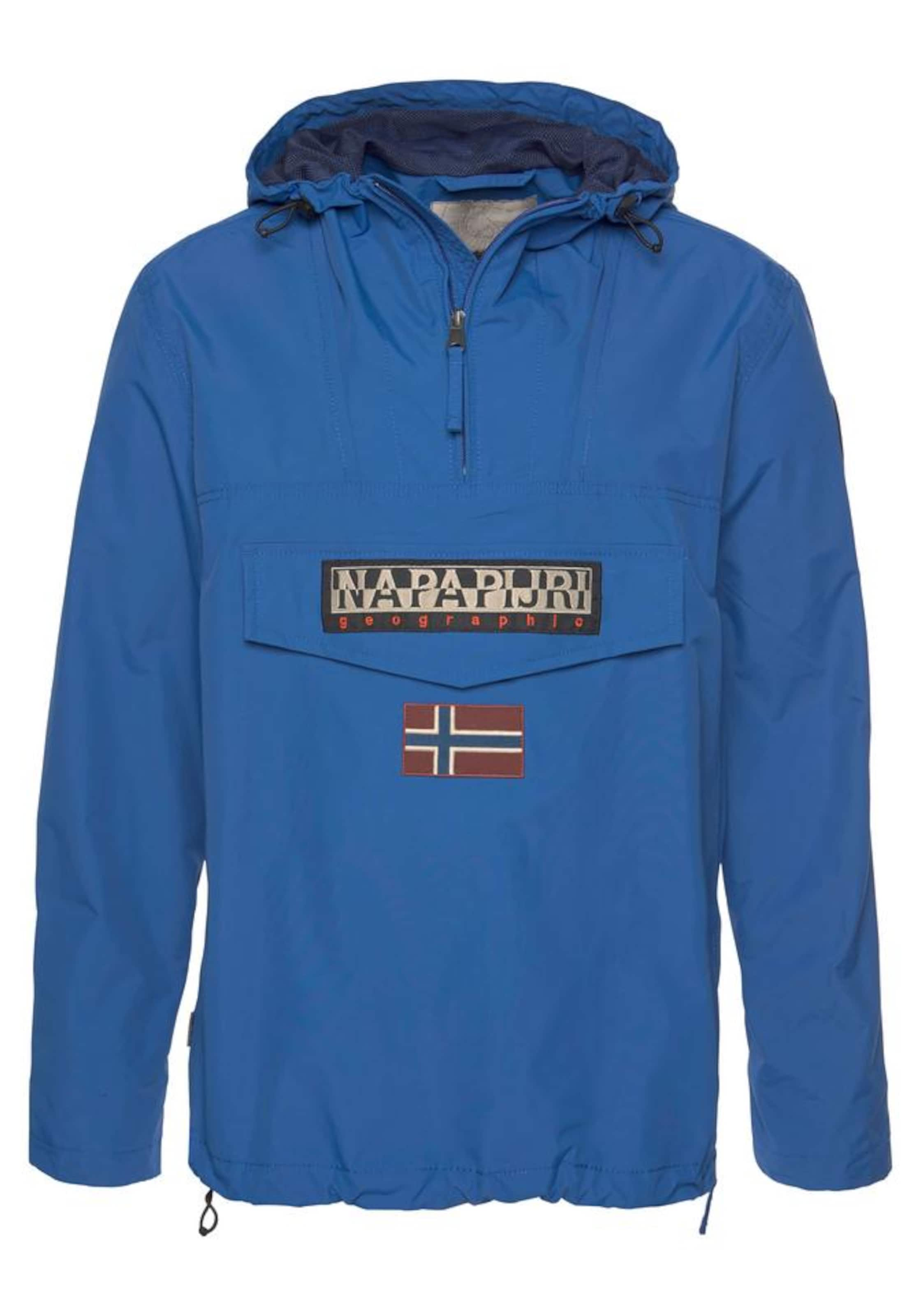 Windbreaker In Napapijri In Blau Windbreaker Napapijri 0PwX8nONkZ