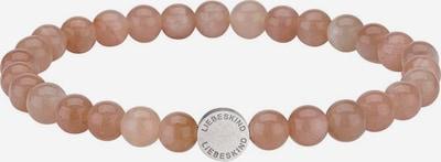 Liebeskind Berlin Bracelet 'LJ-0084-B-17' en gris / rose, Vue avec produit