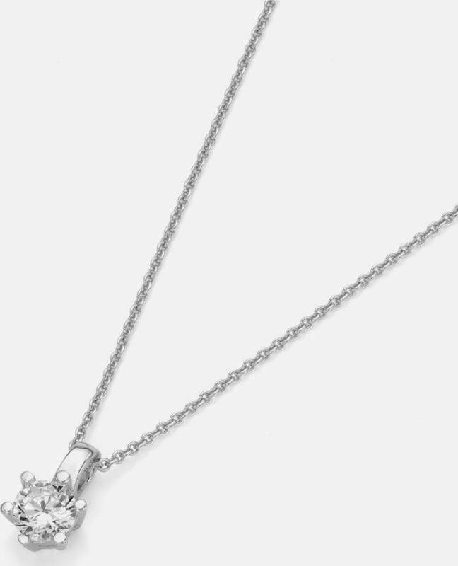 FIRETTI Silberkette 'Solitär'