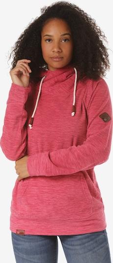 Lakeville Mountain Pullover 'Tanji' in dunkelpink, Produktansicht