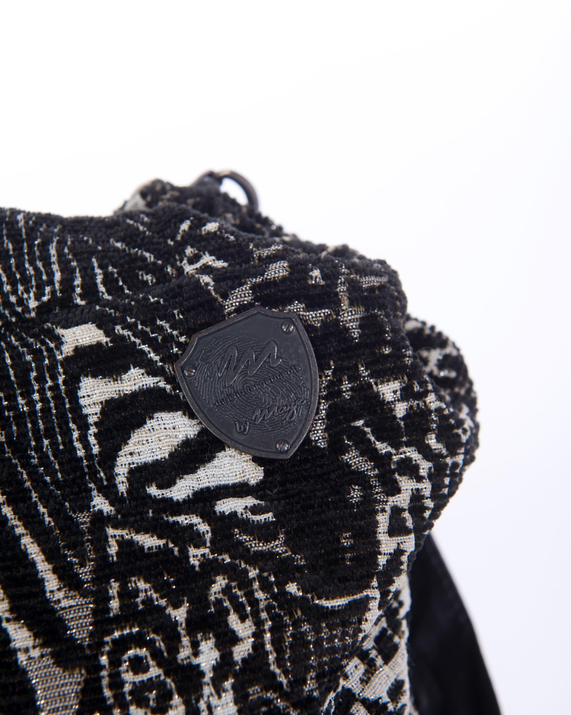 Maze In Handtasche In SchwarzWeiß Maze 'damaskus' Handtasche 'damaskus' SchwarzWeiß Maze SzpGLMVjqU