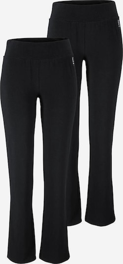 H.I.S Jazzpants 2er Pack in schwarz, Produktansicht