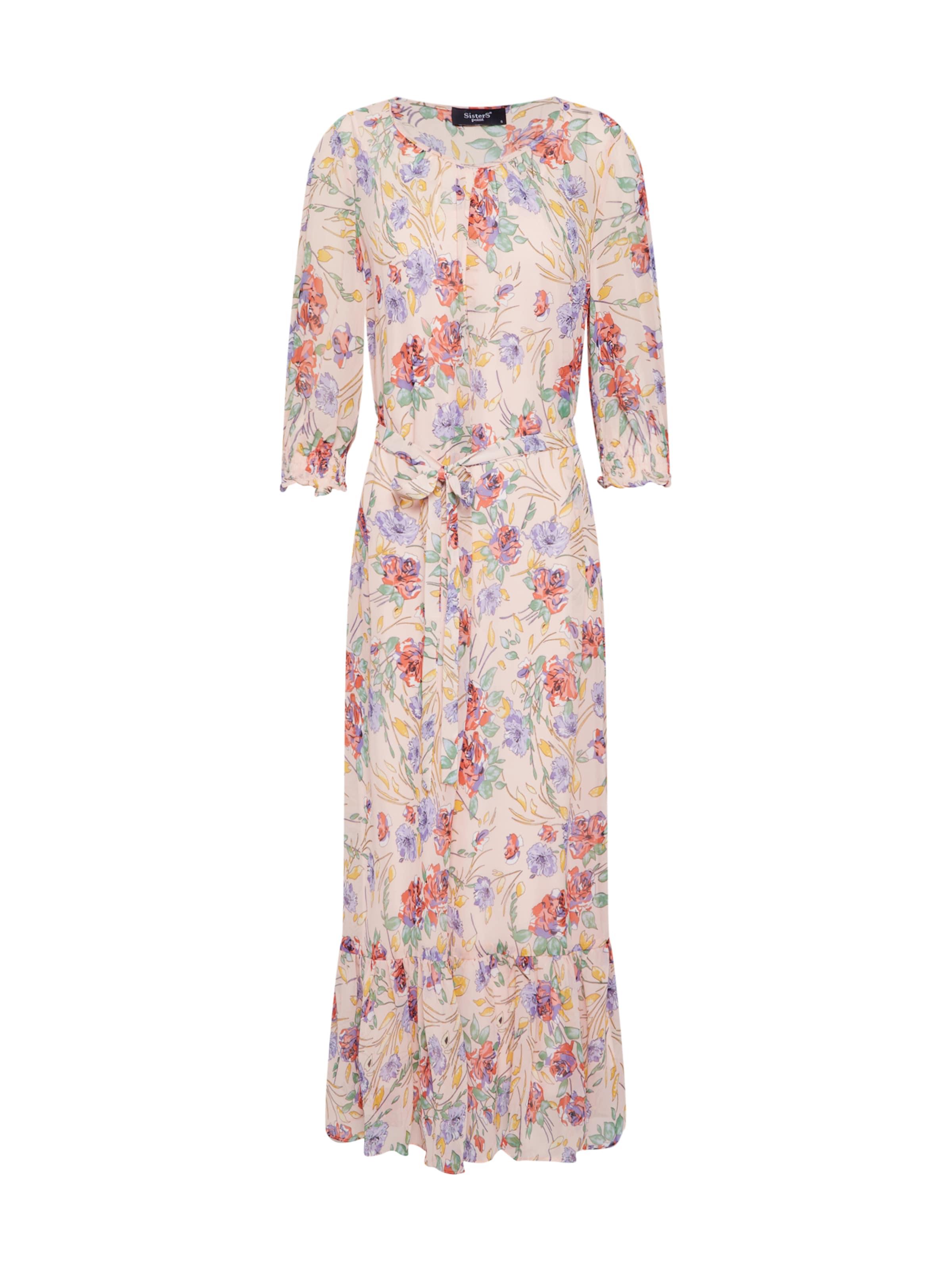 Sisters 'vyda dr1' CremeMischfarben In Point Kleid 8PwOn0k
