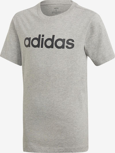 ADIDAS PERFORMANCE Trainingsshirt in graumeliert / schwarz: Frontalansicht