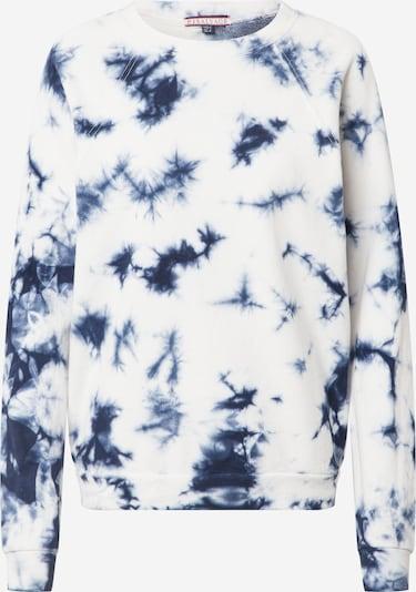 PJ Salvage Schlafshirt 'Lounge' in dunkelblau / weiß, Produktansicht