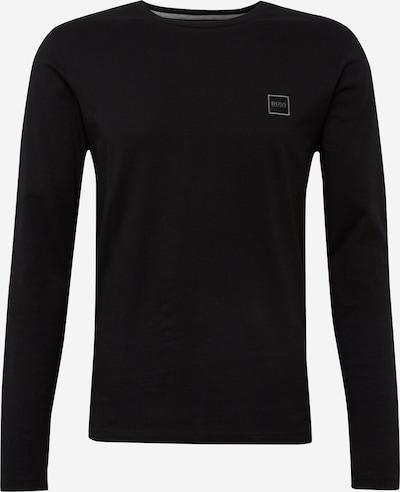 BOSS Langarmshirt 'Tacks' in schwarz, Produktansicht
