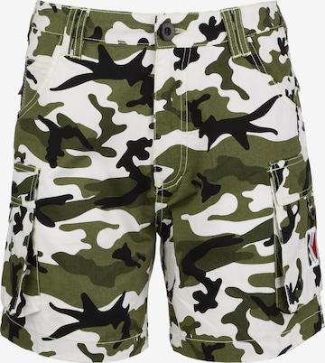 Pantalon cargo 'OG Cam' Karl Kani en vert