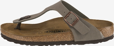 BIRKENSTOCK Sandals 'Gizeh' in Taupe, Item view