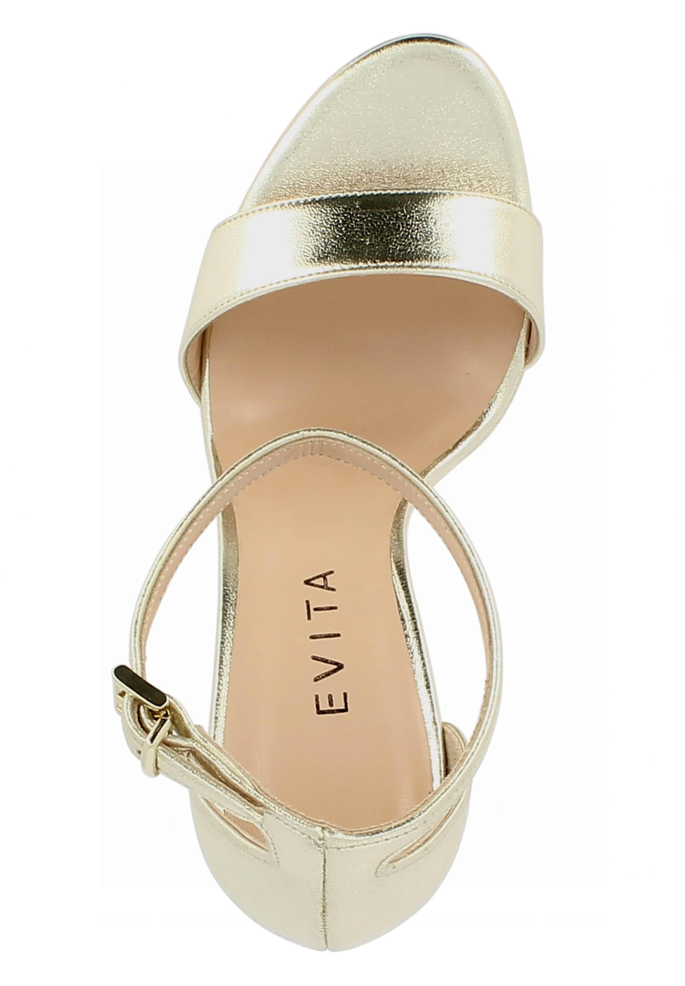 In Gold Sandalette 'valeria' Evita VSMUzp