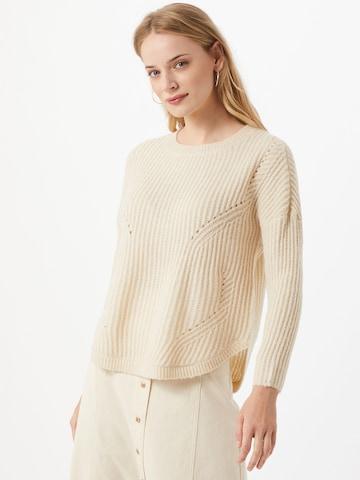 ONLY Пуловер 'onlBERNICE' в бяло