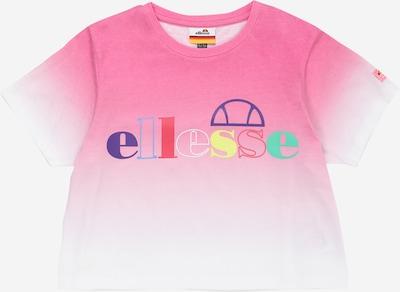 ELLESSE T-Shirt 'Finzo' in pink / weiß, Produktansicht