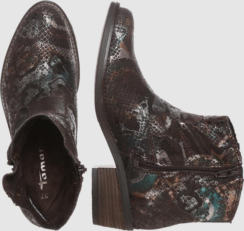 TAMARIS in Boot in TAMARIS Reptil-Optik Verschleißfeste billige Schuhe dc78fd