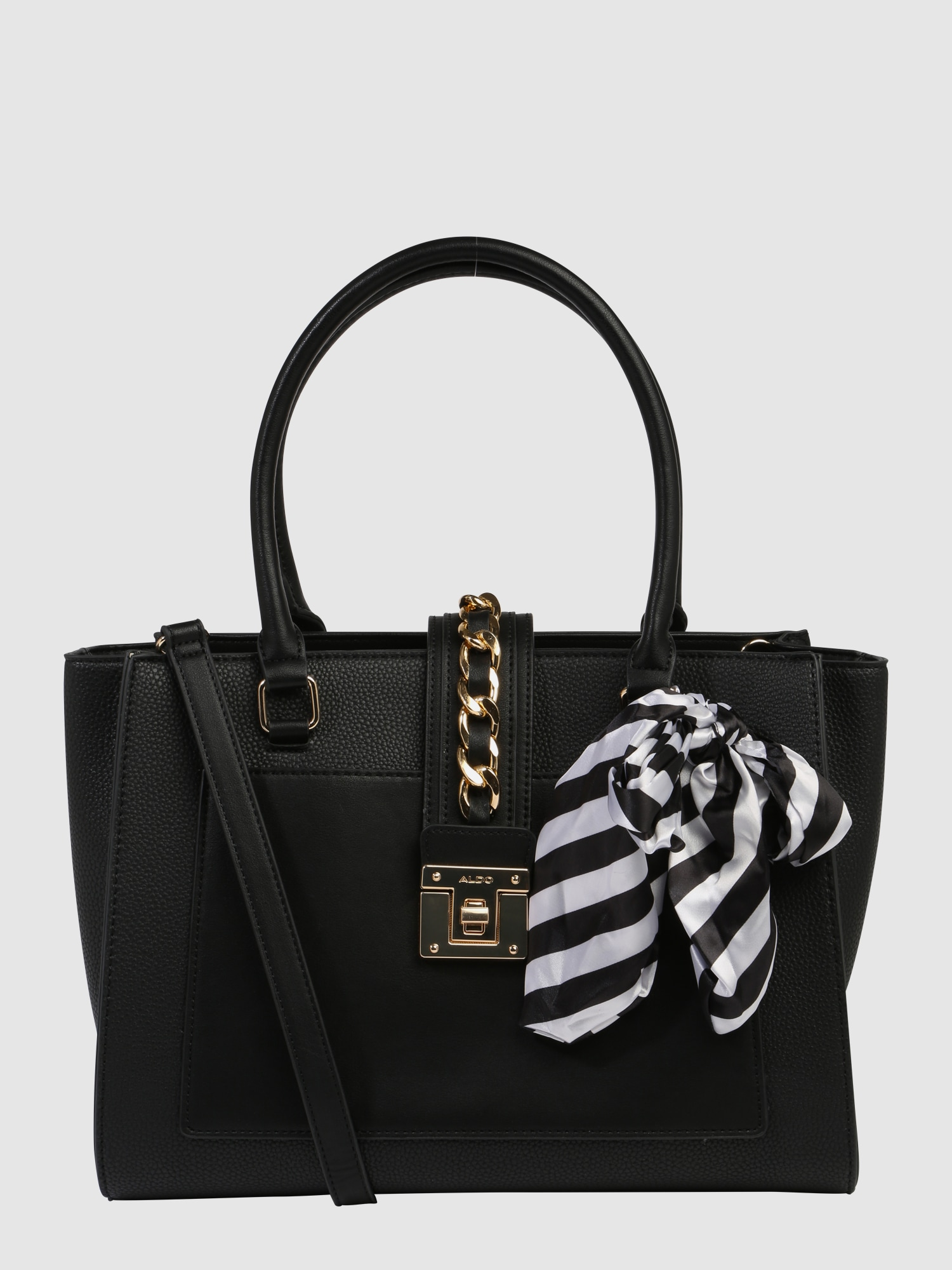 aldo handtasche 39 duvernay 39 in schwarz about you. Black Bedroom Furniture Sets. Home Design Ideas