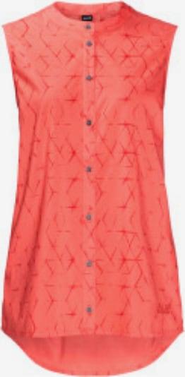 JACK WOLFSKIN Bluse 'Sonora Shibori' in koralle, Produktansicht