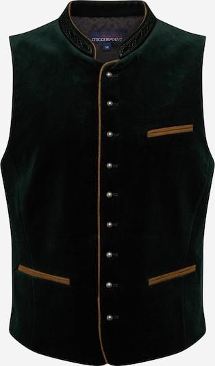 STOCKERPOINT Dirndl prsluk 'Ricardo' u med / tamo siva / tamno zelena / biserno bijela, Pregled proizvoda