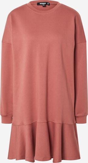 Missguided Robe 'FRILL' en rouge orangé, Vue avec produit