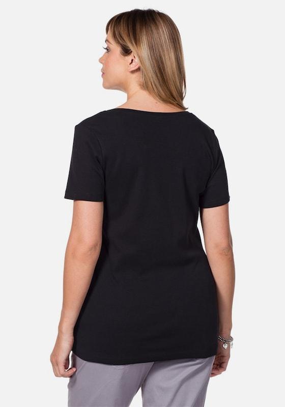 Sheego Basic Legeres Shirt
