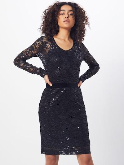rosemunde Kleid 'Dress ls' in schwarz, Modelansicht