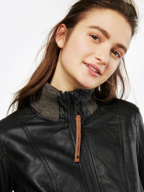 Naketano Imitation Leather Jacket Andy Old Wemser