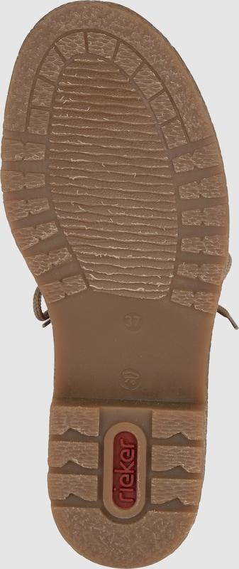 RIEKER Schnürschuh mit Fleece-Fütterung