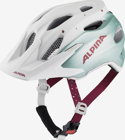 Alpina Fahrradhelm 'Carapax Jr.' in blau / pink / weiß, Produktansicht