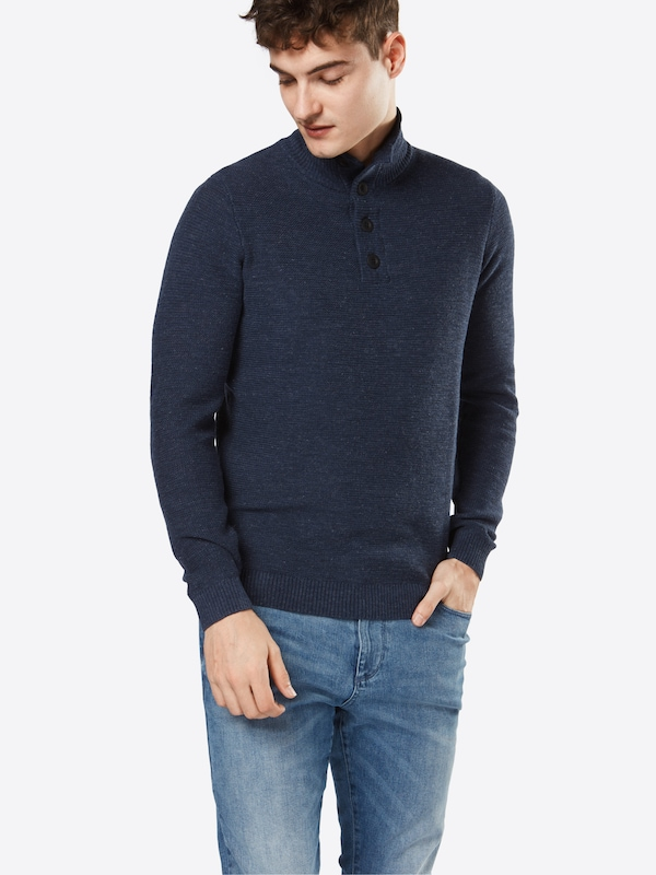 TOM TAILOR Pullover 'basic troyer'