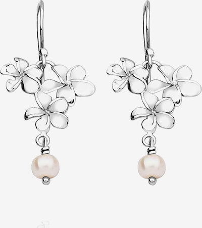 Nenalina Ohrringe 'Blume' in silber, Produktansicht