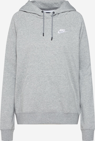 Nike Sportswear Sweat-shirt en gris chiné: Vue de face