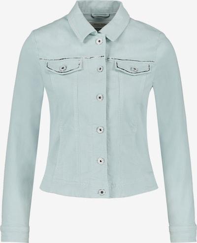 GERRY WEBER Jacke Jeans + Gewebe Jeansjacke mit Paillettenapplikation in hellblau, Produktansicht