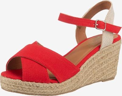 UNLIMITED Sandaletten in rot, Produktansicht