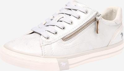 MUSTANG Sneaker in silber / offwhite, Produktansicht