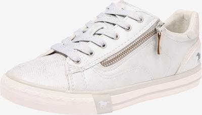 MUSTANG Sneaker '1146311' in silber / offwhite, Produktansicht
