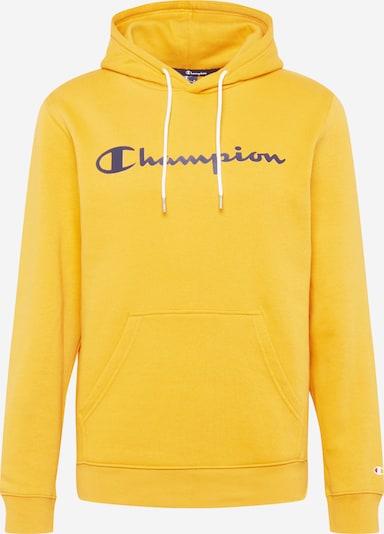 Champion Authentic Athletic Apparel Mikina - modrá / žltá: Pohľad spredu