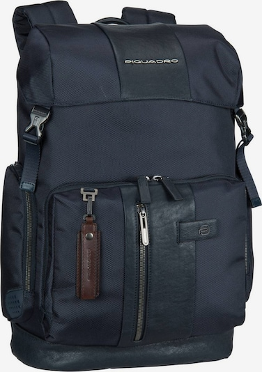 Piquadro Laptoprucksack in blau, Produktansicht