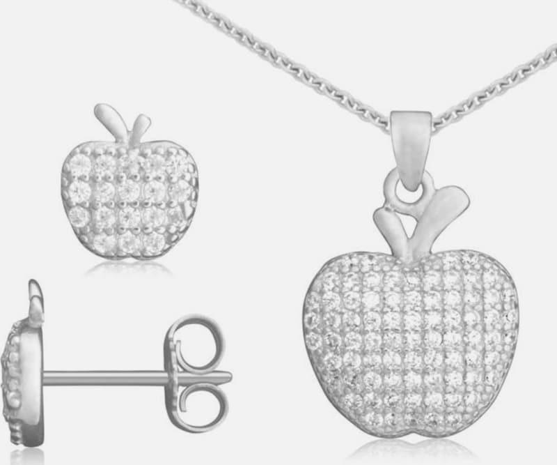 FIRETTI Schmuckset »Apfel« (Set, 4 tlg.)