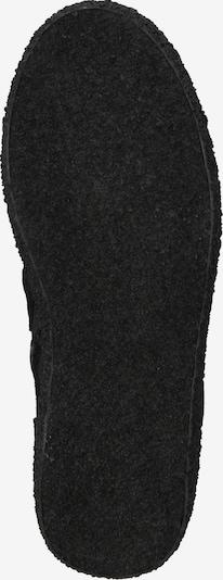 Suvarstomieji kulkšnis dengiantys batai iš Ca Shott , spalva - juoda: Vaizdas iš apačios