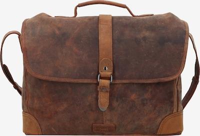 Harold's Aktentasche 'Antik' in braun, Produktansicht