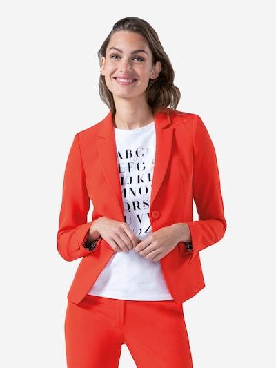 DANIEL HECHTER Blazer in orange, Modelansicht