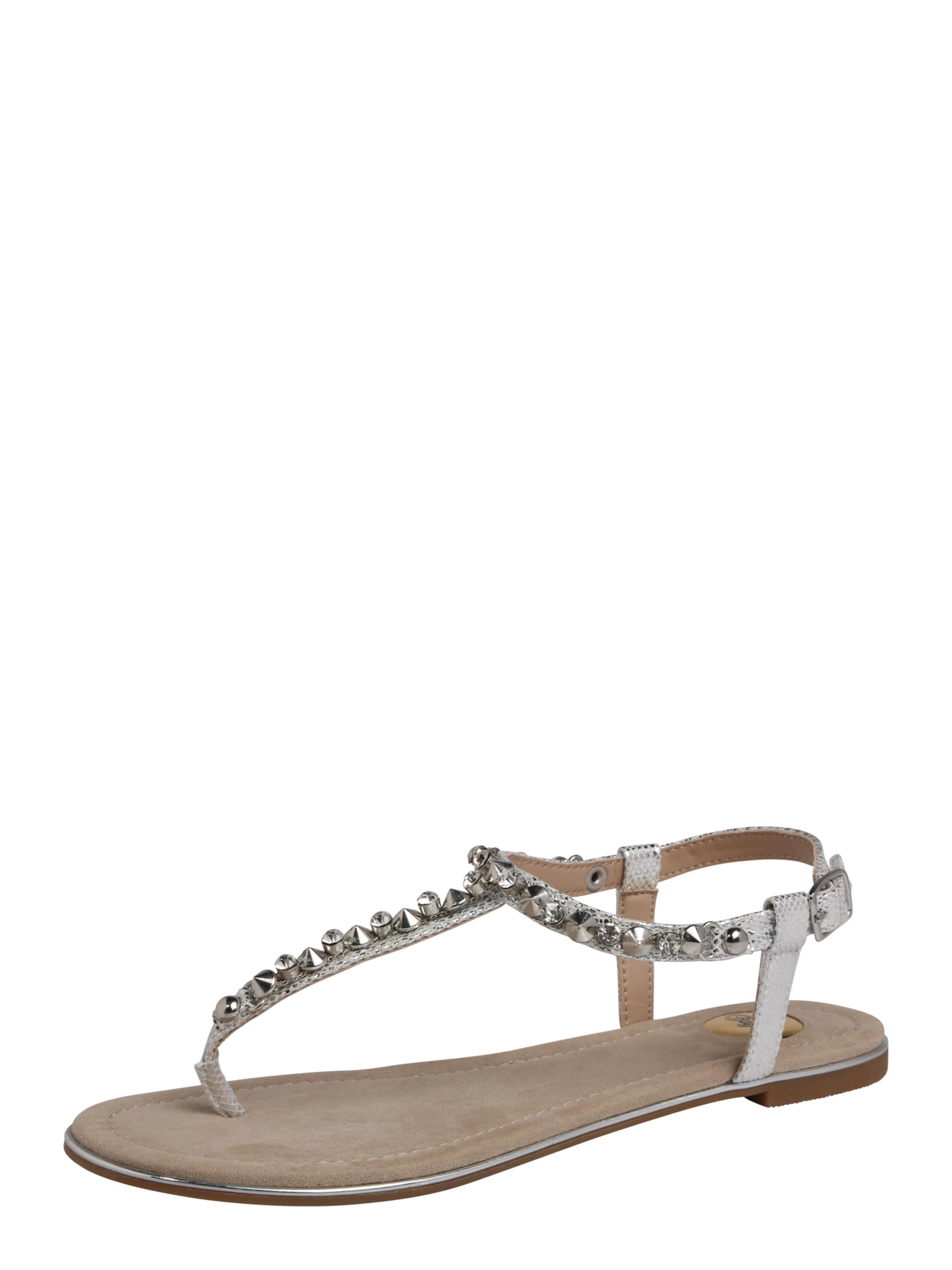 BUFFALO Sandalen mit Ziersteinbesatz Günstige und langlebige Schuhe